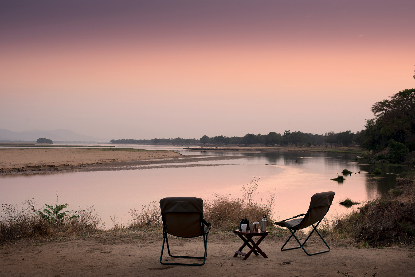 Zambezi-Expeditions-Mana-Pools-National-Park-Zimbabwe-Safari-Tented-Camp-African-Bush-Camps-(10)-View-from-tent
